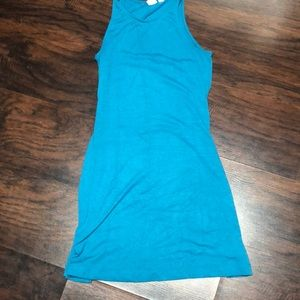 Teal gap dress